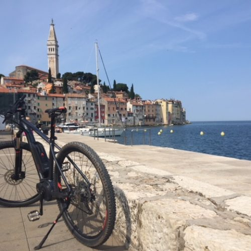 5 days bike and bed in Istria
